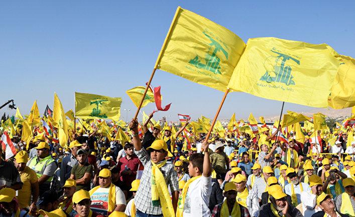 Сторонники лидера «Хезболлы» Хасана Насраллы в Ливане