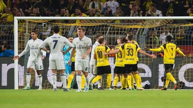 دوري الأبطال.. بوروسيا دورتموند يستضيف ريال مدريد بذكريات رباعية 2013
