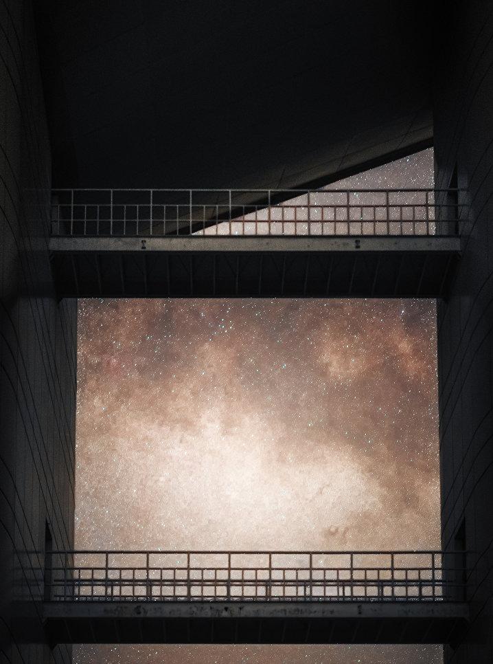 """Снимок фотографа Хай Тон-Ю из Китая """"Проход к Млечному пути"""" (Passage to the Milky Way), победивший в категории """"Небесный свод""""."""