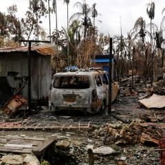 Конфликт в Мньяме: корни растут из Лондона