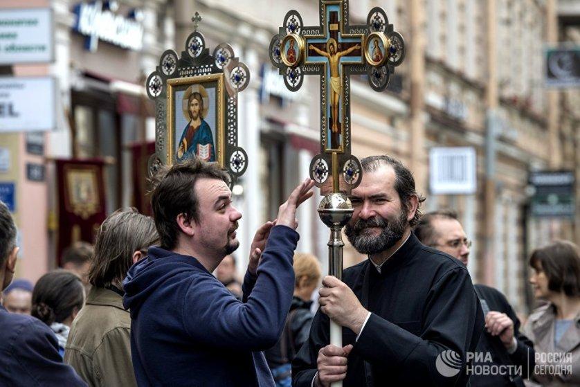 """Кроме того, в этом году делегация Греческой церкви доставила в Санкт-Петербург чудотворный образ Богоматери """"Панагия Сумела""""."""