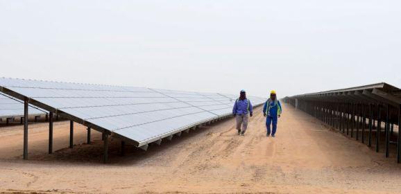 مرحلة رابعة في مشروع دبي للطاقة الشمسية