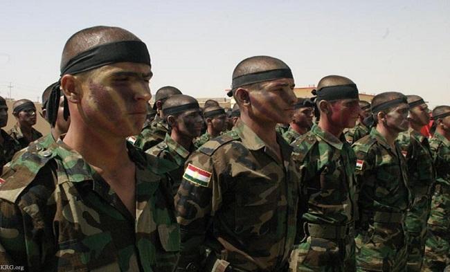 Курдские военизированные формирования «Пешмерга» («идущие на смерть»)