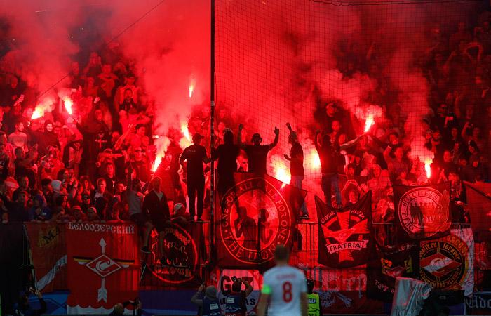 Фанатов «Спартака» не пустят на игру с «Севильей» в выездном матче ЛЧ