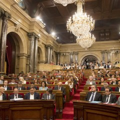 КС Испании отменил заседание парламента Каталонии, намеченное на 9 октября