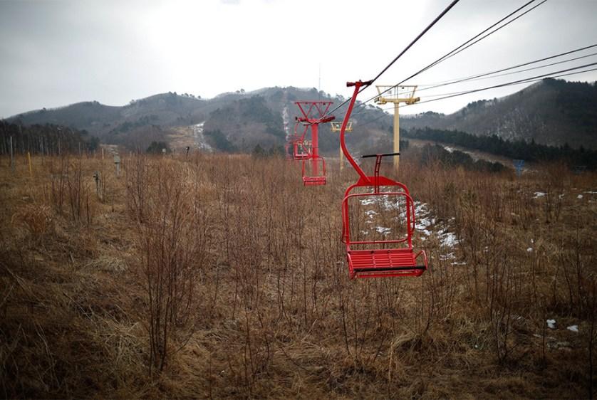 """""""منتجع ميت"""" عند الحدود بين الكوريتين"""