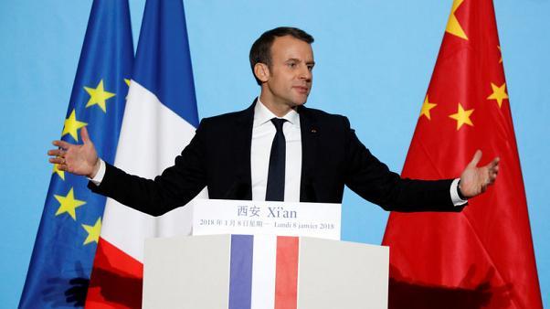 الرئيس الفرنسي: طريق الحرير الصيني الجديد لا يمكن أن يكون اتجاها واحدا