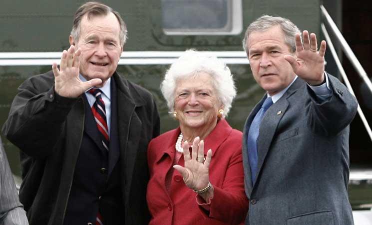 وفاة سيدة أمريكا الأولى السابقة باربرا بوش عن 92 عاما