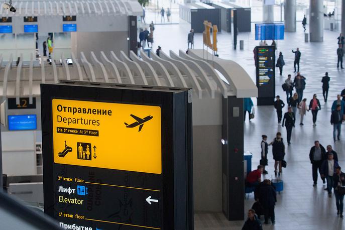 Пассажиры осваивают новый терминал аэропорта Крыма