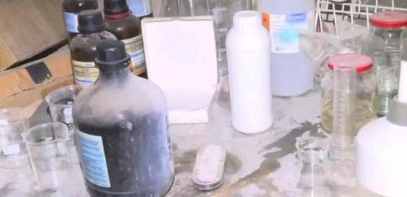 Российские военные обнаружили в городе Дума лабораторию и склад химикатов боевиков