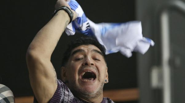 مارادونا يتولى رئاسة ناد في روسيا البيضاء