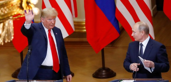 Talk of collusion with Trump 'absurd' – Putin