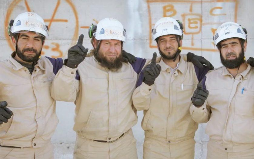"""""""الخوذ البيض"""" بطل تمثيلية جديدة لإركاع الانسان السوري"""