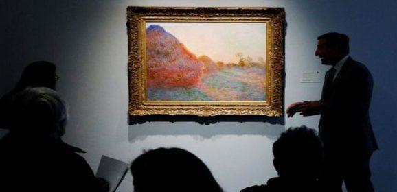بيع لوحة لمونيه في مزاد برقم قياسي تجاوز 100 مليون دولار