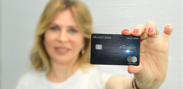 The First Metal Card in Lebanon from Credit Libanais