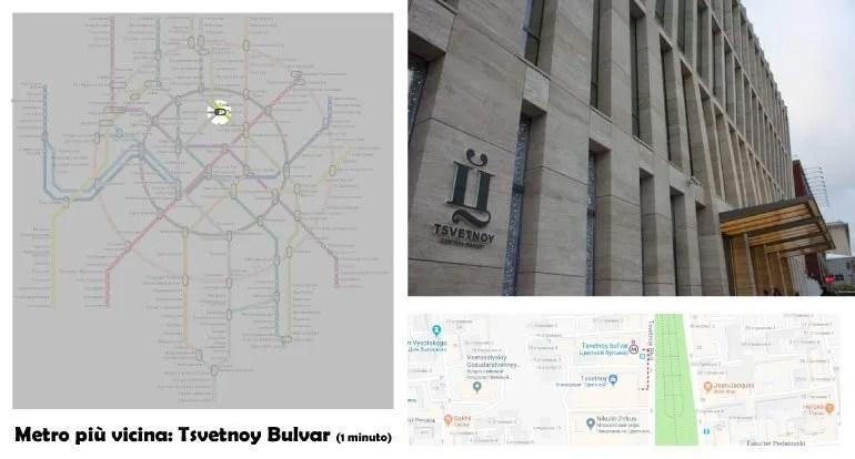 Shopping a Mosca: Tsvetnoy