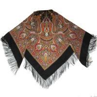 Pavlovsky Shawl Spanish - Russian Woolen Shawl - WOman Scarves