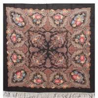 Spanish Vine Pavlovskiy Shawl - Russian Wool Shawls ...