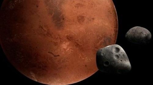 Вокруг Марса могут начать формироваться кольца