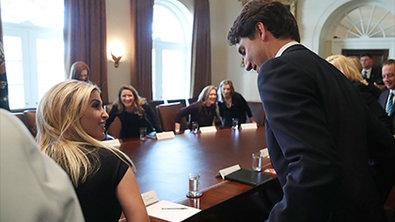 Канадский премьер очаровал Иванку Трампа