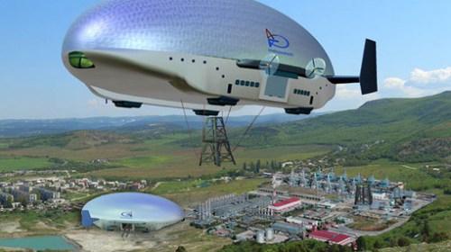 В РФ разработан дирижабль нового поколения «Атлант»