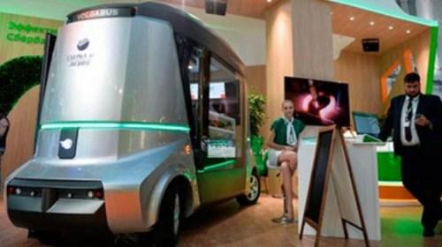 Российский беспилотный автобус появится уже в 2017 году