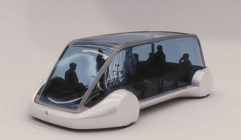 Бурильная компания Маска показала электрический беспилотный автобус