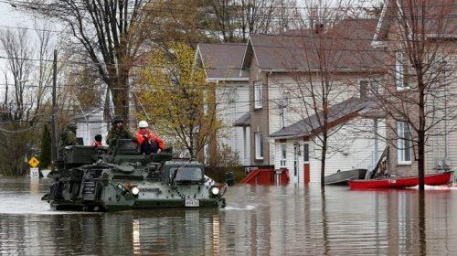 В Канаде из-за сильных наводнений введен режим ЧС