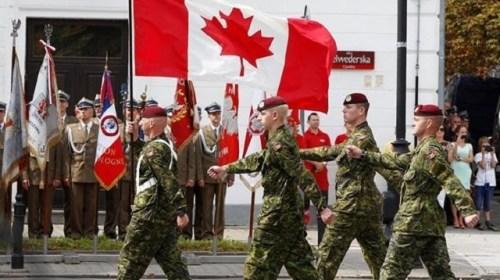 Стал известен состав возглавляемого Канадой батальона НАТО в Латвии