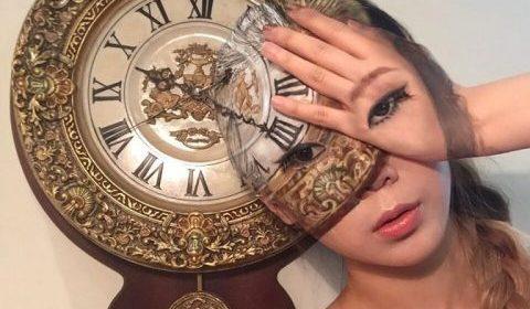 Кореянка создает удивительные оптические иллюзии на своем теле