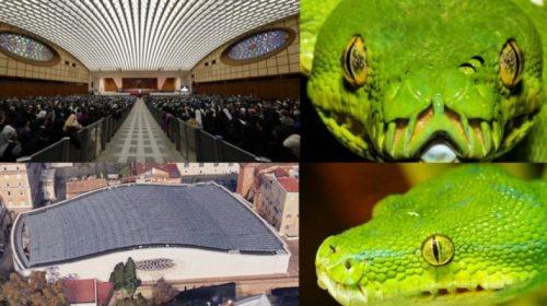 Змееголовый конференц-зал Папы Римского