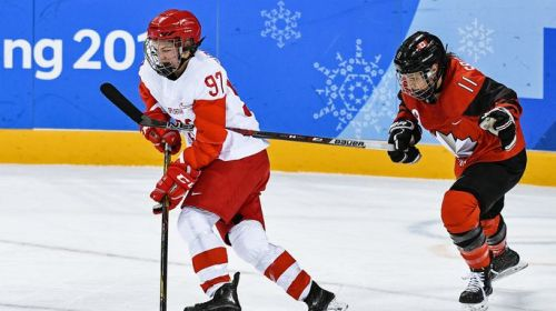 Хоккеистки сборной России проиграли Канаде в первом матче на ОИ-2018