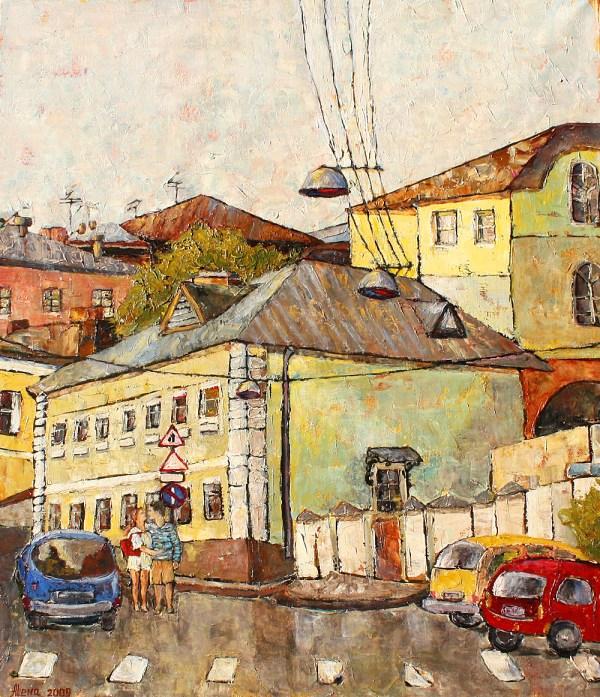 Artist Alena Filippova-kargalskaya Moscow . Russian Art & Paris