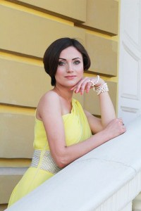 bashful Ukrainian fiancee from city Kiev Ukraine