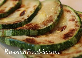Marrow vegetable recipe pan fried marrow  Russian Food
