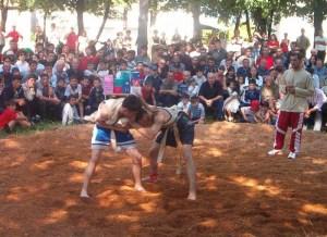 The tradion of Georgian wrestling