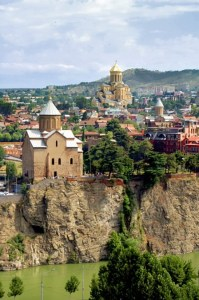 The ancient capitol of Georgia--Tbilisi
