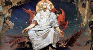 Vasnetsov's painting of Svarog