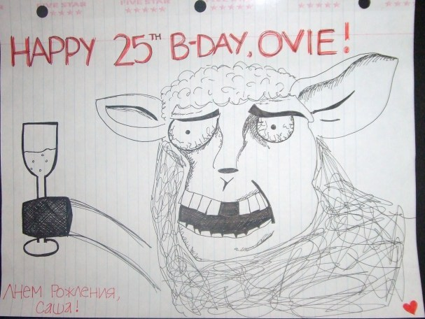 Lindsey N's Birthday Card for Ovi