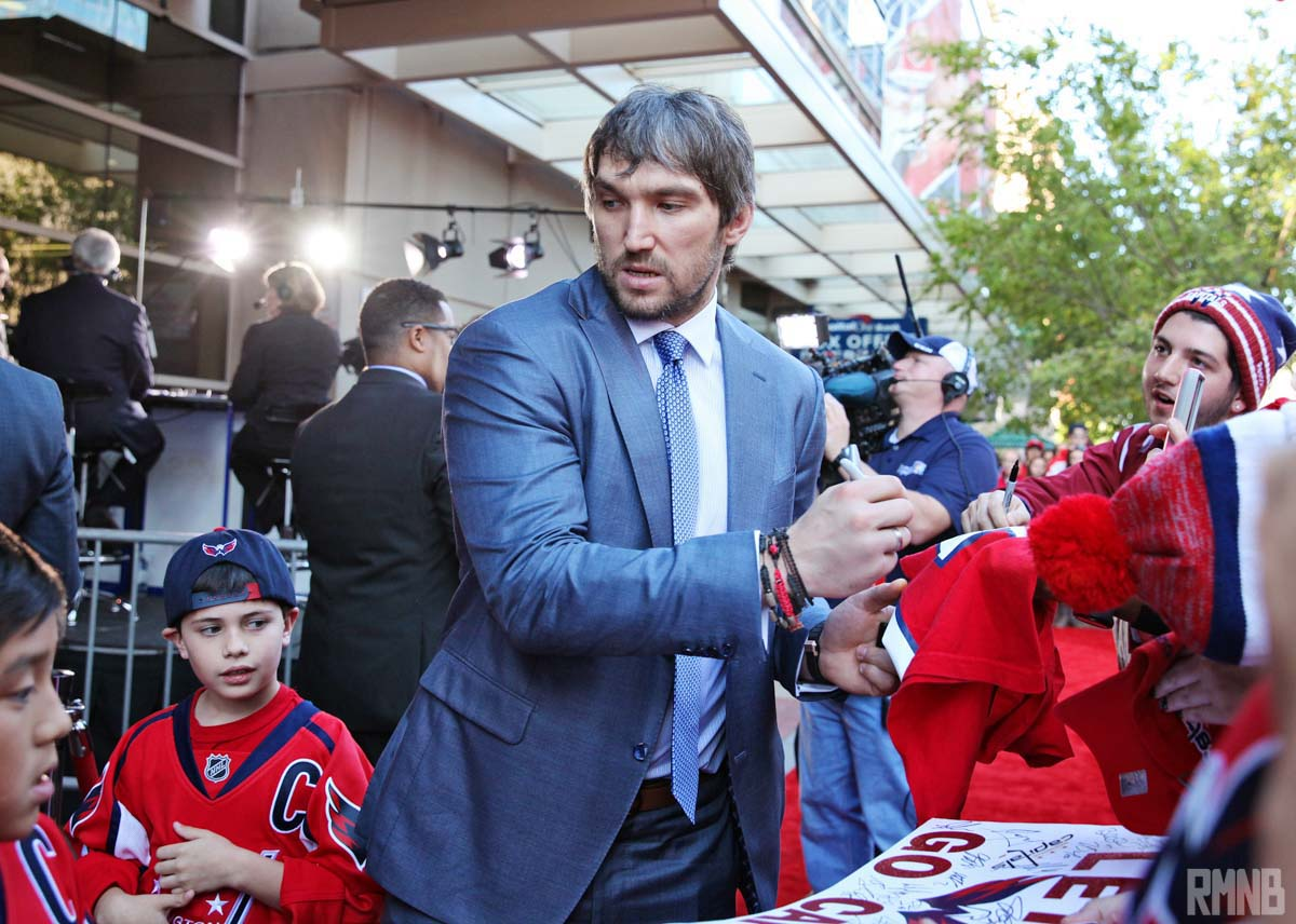 More autographs from Ovechkin