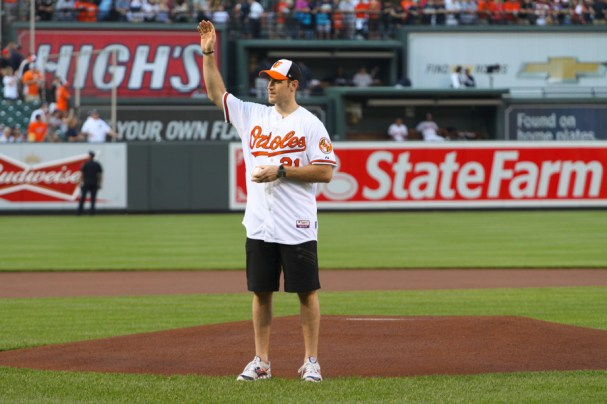 Brooks Laich First Pitch (17 of 24)