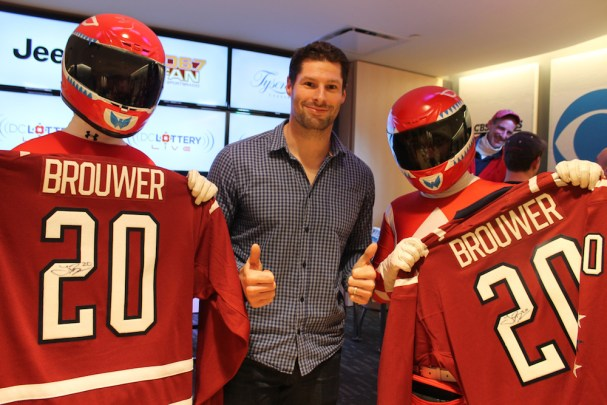 Chalk Talk with Troy Brouwer