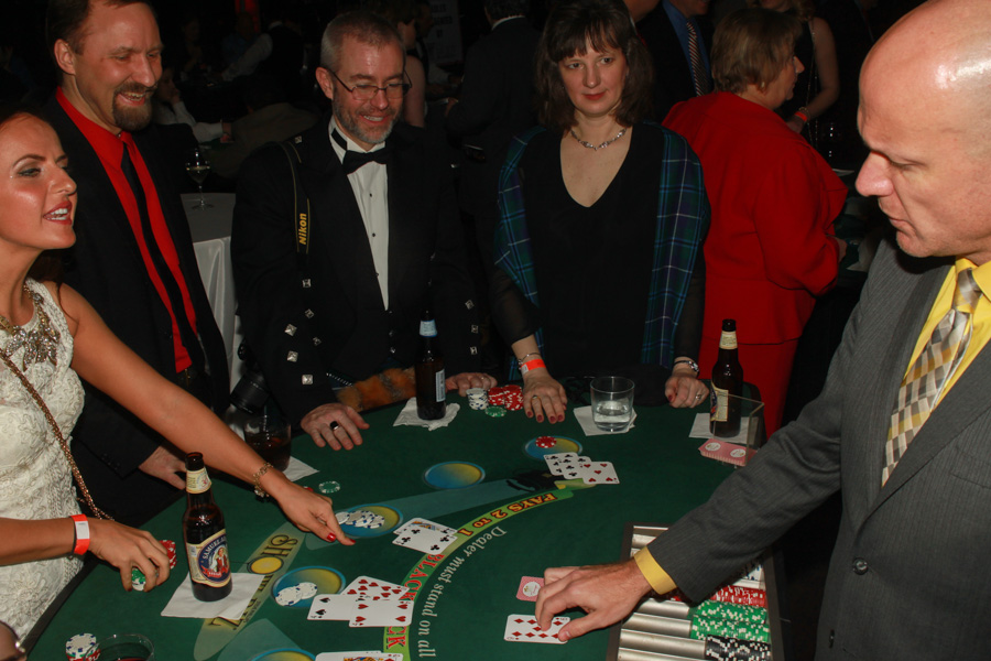 Casino Night Play Money