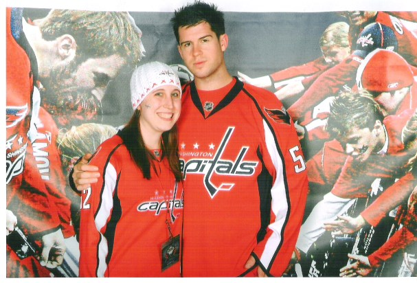 Elyssa with Mike Green