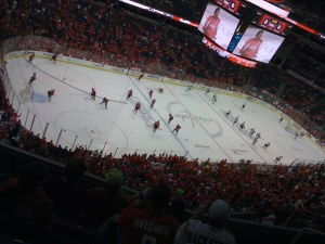 My vantage point to the Caps' dark night of the soul