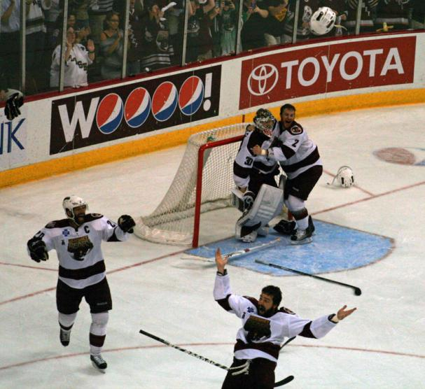 The Hershey Bears win the 2009-10 Calder Cup!