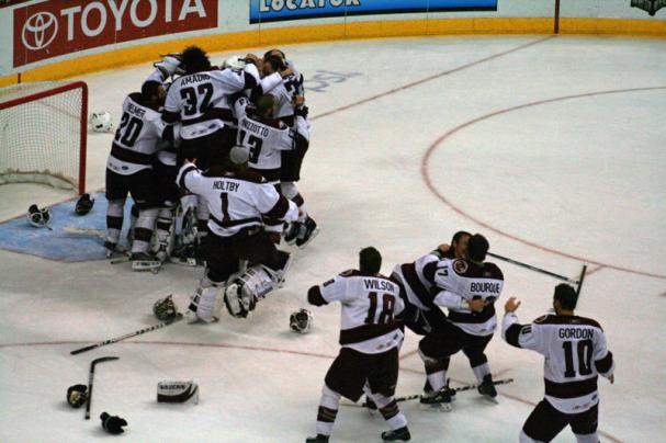 Hershey Bears Celebrate Their 11th AHL Title.