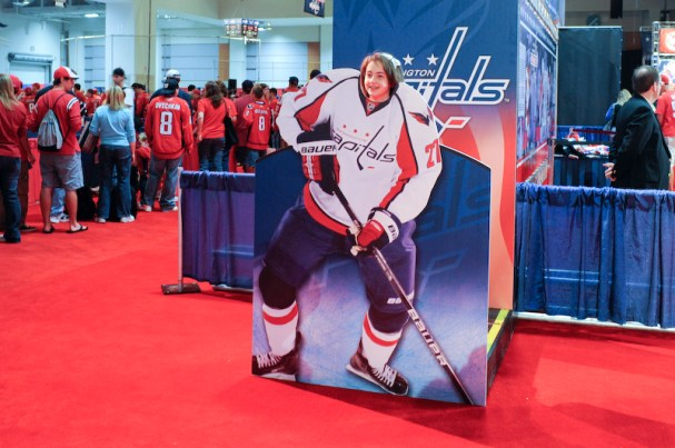 Karl Alzner never looked so good!