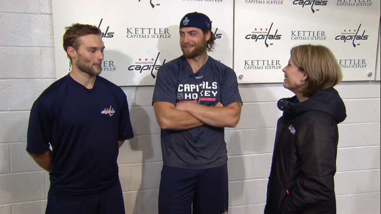 Nathan Walker Is Living With Braden Holtby And Making Tea For His Wife
