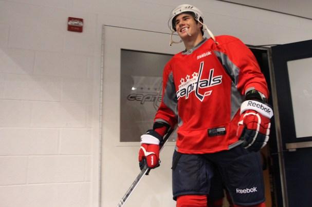 Tom Wilson NHL Debut